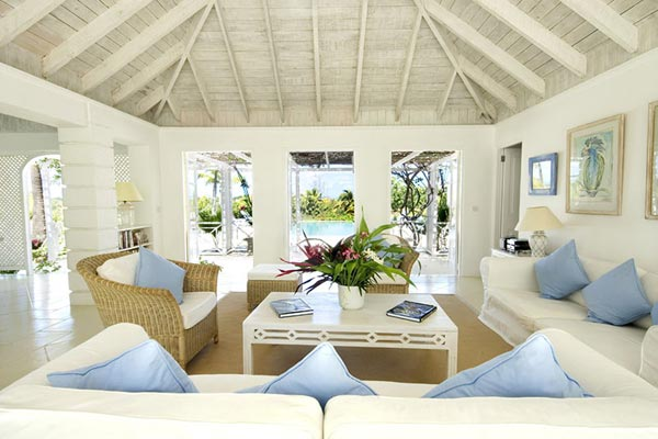 Living Room at Villa MV GRS (Grasshopper) at Mustique, Hillside, Family-Friendly Villa, Pool, 3 Bedrooms, 3 Bathrooms, WiFi, WIMCO Villas
