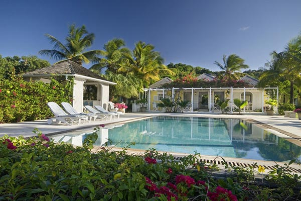 Villa Pool at Villa MV GRS (Grasshopper) at Mustique, Hillside, Family-Friendly Villa, Pool, 3 Bedrooms, 3 Bathrooms, WiFi, WIMCO Villas