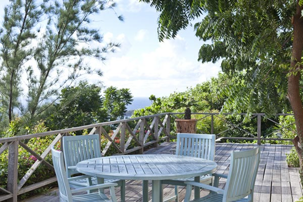 Deck at Villa MV HBS (Hibiscus) at Mustique, Hillside, Family-Friendly Villa, Pool, 5 Bedrooms, 5 Bathrooms, WiFi, WIMCO Villas