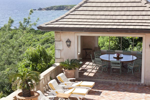 Gazebo at Villa MV HBS (Hibiscus) at Mustique, Hillside, Family-Friendly Villa, Pool, 5 Bedrooms, 5 Bathrooms, WiFi, WIMCO Villas