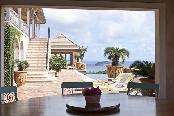The view from Villa MV HBS (Hibiscus) at Mustique, Hillside, Family-Friendly Villa, Pool, 5 Bedrooms, 5 Bathrooms, WiFi, WIMCO Villas