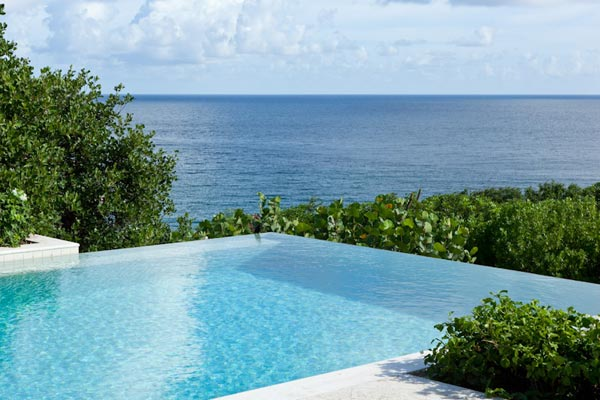WIMCO Villas, Les Jolies Eaux, MV JOL, Mustique, Hillside, Family Friendly Villa, 5 Bedroom Villa, 5 Bathroom Villa, Pool, View from Villa, WiFi