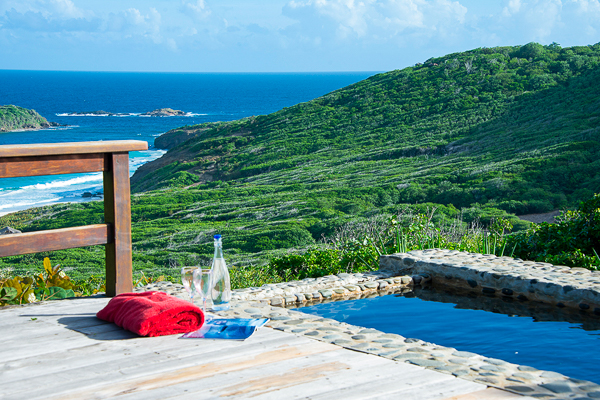 The view from WIMCO Villa MV MGT (Moongate) at Pasture Bay, Mustique