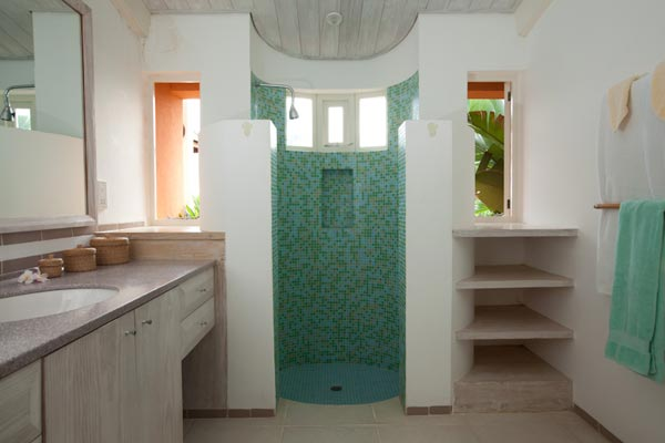 Bathroom at Villa MV SAL (Salamander) at Mustique, Hillside, Family-Friendly Villa, Pool, 4 Bedrooms, 4 Bathrooms, WiFi, WIMCO Villas