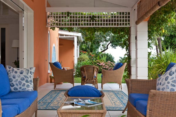Veranda at Villa MV SAL (Salamander) at Mustique, Hillside, Family-Friendly Villa, Pool, 4 Bedrooms, 4 Bathrooms, WiFi, WIMCO Villas
