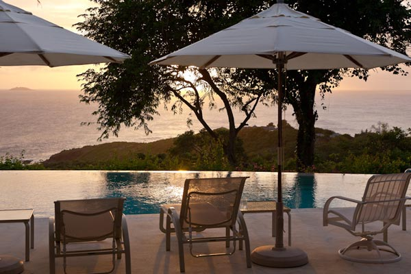 The view from Villa MV SAL (Salamander) at Mustique, Hillside, Family-Friendly Villa, Pool, 4 Bedrooms, 4 Bathrooms, WiFi, WIMCO Villas
