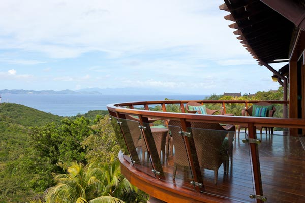 The view from Villa MV SHO (Shogun) at Mustique, Hillside, Family-Friendly Villa, Pool, 9 Bedrooms, 9 Bathrooms, WiFi, WIMCO Villas