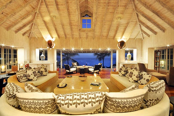 Living Room at Villa MV TOR (Tortuga) at Mustique, Hillside, Family-Friendly Villa, Pool, 5 Bedrooms, 5 Bathrooms, WiFi, WIMCO Villas
