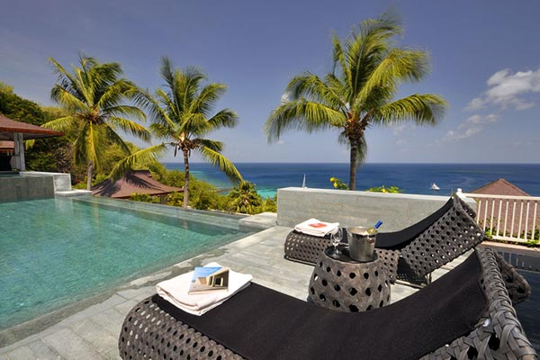 Villa Pool at Villa MV TOR (Tortuga) at Mustique, Hillside, Family-Friendly Villa, Pool, 5 Bedrooms, 5 Bathrooms, WiFi, WIMCO Villas
