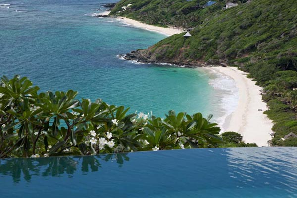 Beach at Villa MV YEM (Yemanja) at Mustique, Hillside, Family-Friendly Villa, Pool, 8 Bedrooms, 8 Bathrooms, WiFi, WIMCO Villas