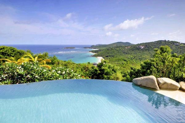 The view from Villa MV YEM (Yemanja) at Mustique, Hillside, Family-Friendly Villa, Pool, 8 Bedrooms, 8 Bathrooms, WiFi, WIMCO Villas