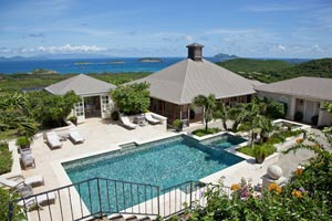 WIMCO Villas, MV AUR, Mustique, Hillside, 5 bedrooms, 4 bathrooms