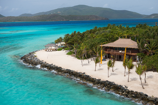 WIMCO Villas, Necker Island, Necker Island, Aerial, Book now with WIMCO Villas