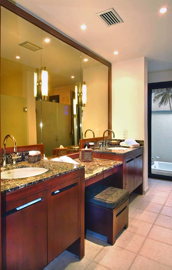 Bathroom at Villa TCC VP5 (Paradiso 5) at Nevis, Walk/Pinneys Beach, Family-Friendly Villa, Pool, 4 Bedrooms, 4 Bathrooms, WiFi, WIMCO Villas