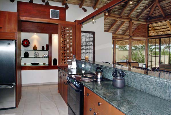 Kitchen at Villa TCC VP5 (Paradiso 5) at Nevis, Walk/Pinneys Beach, Family-Friendly Villa, Pool, 4 Bedrooms, 4 Bathrooms, WiFi, WIMCO Villas