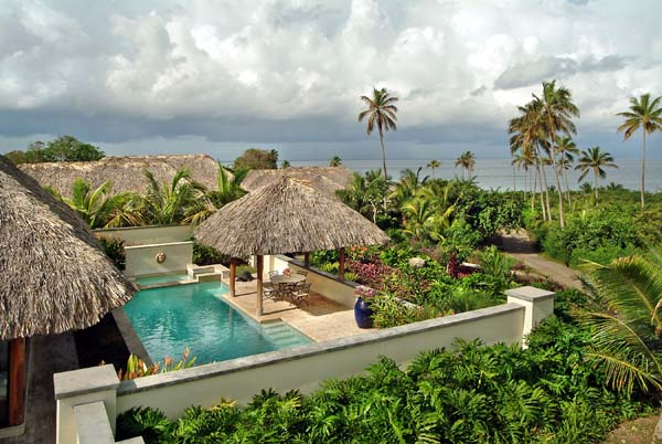 The view from Villa TCC VP5 (Paradiso 5) at Nevis, Walk/Pinneys Beach, Family-Friendly Villa, Pool, 4 Bedrooms, 4 Bathrooms, WiFi, WIMCO Villas