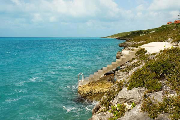 The view from Villa IE BAL (Balinese) at Turks & Caicos, Turtle Tail, Family-Friendly Villa, Pool, 3 Bedrooms, 3 Bathrooms, WiFi, WIMCO Villas