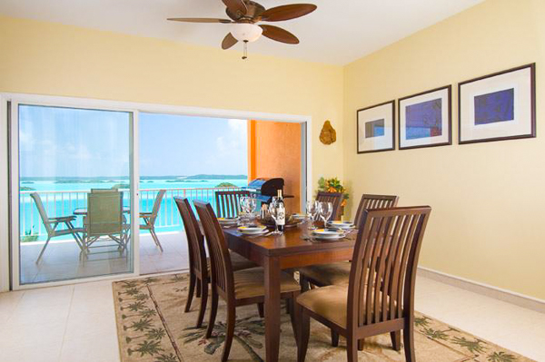 Dining Room at Villa IE BZP (Breezy Palms) at Turks & Caicos, Silly Creek/Taylors, Family-Friendly Villa, Pool, 4 Bedrooms, 4 Bathrooms, WiFi, WIMCO Villas