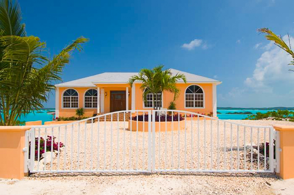 Exterior of Villa IE BZP (Breezy Palms) at Turks & Caicos, Silly Creek/Taylors, Family-Friendly Villa, Pool, 4 Bedrooms, 4 Bathrooms, WiFi, WIMCO Villas