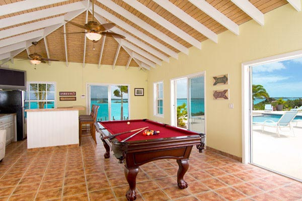 Terrace at Villa IE BZP (Breezy Palms) at Turks & Caicos, Silly Creek/Taylors, Family-Friendly Villa, Pool, 4 Bedrooms, 4 Bathrooms, WiFi, WIMCO Villas