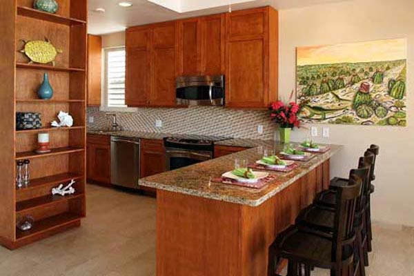 Kitchen at Villa IE MBH (Blue Heaven) at Turks & Caicos, Sapodilla Bay, Family-Friendly Villa, Pool, 3 Bedrooms, 4 Bathrooms, WiFi, WIMCO Villas