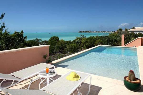 Villa Pool at Villa IE MBH (Blue Heaven) at Turks & Caicos, Sapodilla Bay, Family-Friendly Villa, Pool, 3 Bedrooms, 4 Bathrooms, WiFi, WIMCO Villas