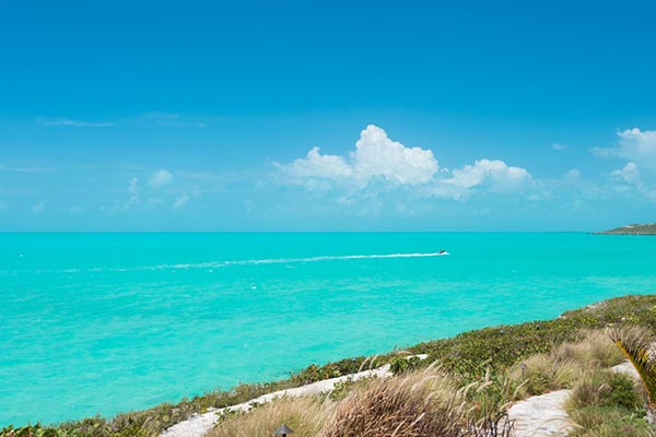 The view from Villa IE OCP (Ocean Palms) at Turks & Caicos, Turtle Tail, Family-Friendly Villa, Pool, 4 Bedrooms, 4 Bathrooms, WiFi, WIMCO Villas