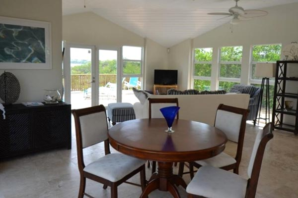 Dining Room at Villa IE SRV (Serene) at Turks & Caicos, Chalk Sound/Taylors, Family-Friendly Villa, Pool, 2 Bedrooms, 3 Bathrooms, WiFi, WIMCO Villas