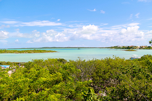 The view from Villa NEP CHK (Neptune Villas - Chalk Sound View) at Turks & Caicos, Chalk Sound/Taylors, Family-Friendly Villa, 2 Bedrooms, 2 Bathrooms, WiFi, WIMCO Villas