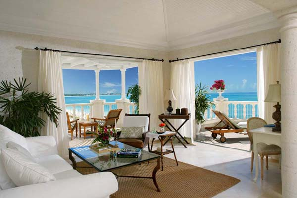 WIMCO Villas, The Palms Turks & Caicos, Turks & Caicos Island, Living Room, Book now with WIMCO Villas