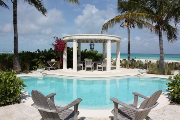 Villa Pool at WIMCO Villa PL COR (Coral House) at Grace Bay/Beachside, Turks & Caicos