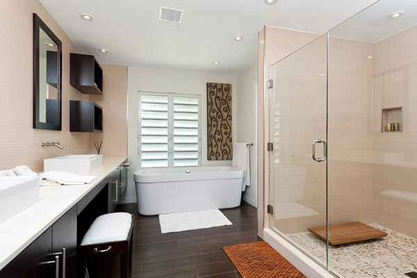 Bathroom at Villa PL COV (Conch Villa) at Turks & Caicos, Grace Bay/Beachside, Family-Friendly Villa, Pool, 3 Bedrooms, 3 Bathrooms, WiFi, WIMCO Villas