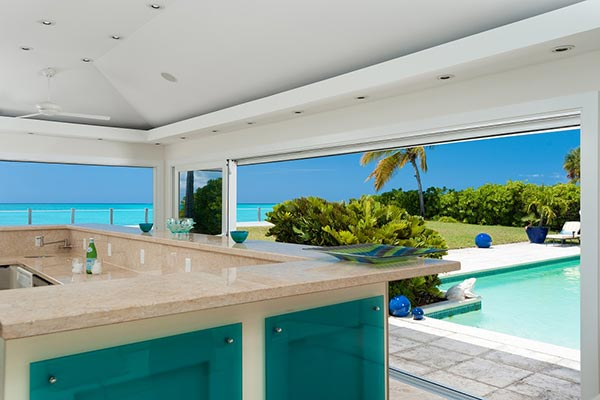 Kitchen at Villa PL COV (Conch Villa) at Turks & Caicos, Grace Bay/Beachside, Family-Friendly Villa, Pool, 3 Bedrooms, 3 Bathrooms, WiFi, WIMCO Villas