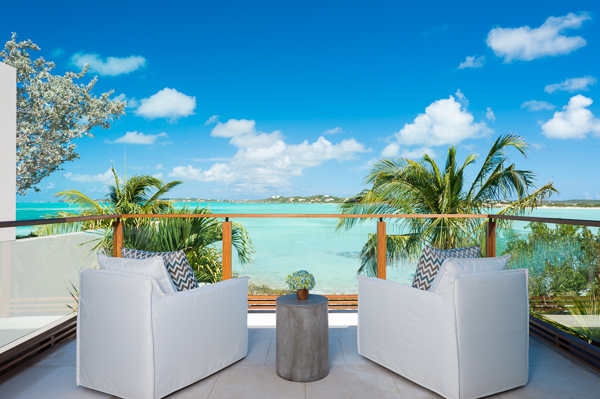 The view from Villa PL TTH (Turtle House) at Turks & Caicos, Turtle Tail, Family-Friendly Villa, Pool, 5 Bedrooms, 5 Bathrooms, WiFi, WIMCO Villas