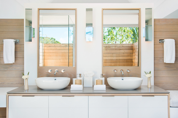 Bathroom at WIMCO Villa TC BEO5 (Beach Enclave North Shore 5BR Ocean View) at Babalua Beach, Turks & Caicos