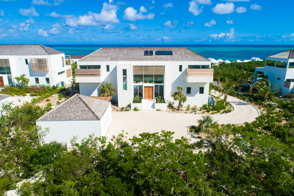 Exterior of WIMCO Villa TC BEO5 (Beach Enclave North Shore 5BR Ocean View) at Babalua Beach, Turks & Caicos