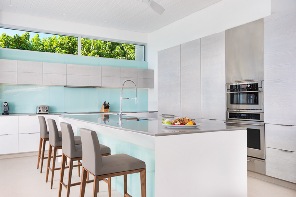 Kitchen at WIMCO Villa TC BEO5 (Beach Enclave North Shore 5BR Ocean View) at Babalua Beach, Turks & Caicos