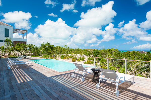 Villa Pool at WIMCO Villa TC BEO5 (Beach Enclave North Shore 5BR Ocean View) at Babalua Beach, Turks & Caicos