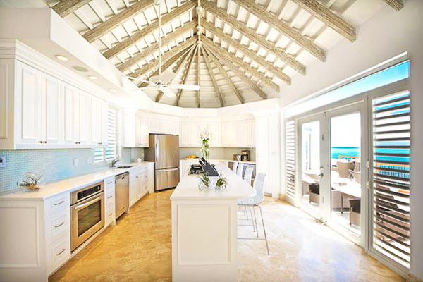 Kitchen at Villa TC MOT (Mothers House) at Turks & Caicos, Grace Bay/Beachside, Family-Friendly Villa, Pool, 5 Bedrooms, 7 Bathrooms, WiFi, WIMCO Villas