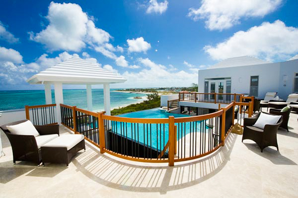 Terrace at Villa TC MOT (Mothers House) at Turks & Caicos, Grace Bay/Beachside, Family-Friendly Villa, Pool, 5 Bedrooms, 7 Bathrooms, WiFi, WIMCO Villas