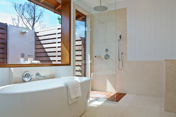 Bathroom at Villa TC PCBH (Beach House at Parrot Cay) at Turks & Caicos, Parrot Cay, Family-Friendly Villa, Pool, 2 Bedrooms, 2 Bathrooms, WiFi, WIMCO Villas