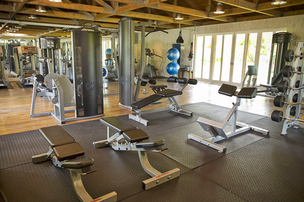 Gym at Villa TC PCRP (Rocky Point at Parrot Cay) at Turks & Caicos, Parrot Cay, Family-Friendly Villa, Pool, 3 Bedrooms, 3 Bathrooms, WiFi, WIMCO Villas