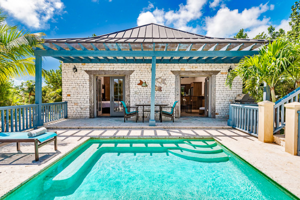 Villa Pool at Villa TNC COR (Coriander) at Turks & Caicos, Grace Bay/Beachside, Family-Friendly Villa, Pool, 1 Bedrooms, 1 Bathrooms, WiFi, WIMCO Villas