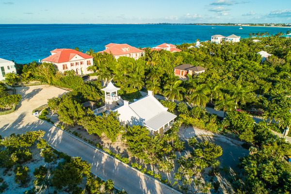 Aerial photo of Villa TNC NUT (Nutmeg Cottage) at Turks & Caicos, Grace Bay/Beachside, Pool, 1 Bedrooms, 1 Bathrooms, WiFi, WIMCO Villas