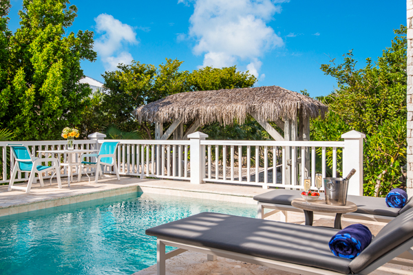 Villa Pool at Villa TNC NUT (Nutmeg Cottage) at Turks & Caicos, Grace Bay/Beachside, Pool, 1 Bedrooms, 1 Bathrooms, WiFi, WIMCO Villas