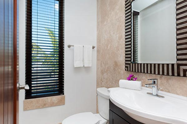 Bathroom at Villa TNC SED (Sea Edge - The Cottages at Grace Bay) at Turks & Caicos, Grace Bay/Beachside, Pool, 1 Bedrooms, 2 Bathrooms, WiFi, WIMCO Villas