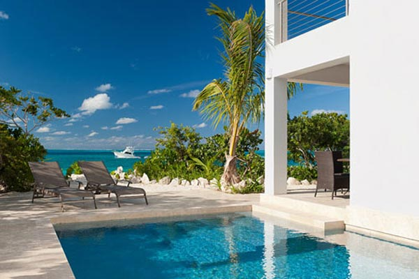 Villa Pool at Villa TNC WED (Water Edge - The Cottages at Grace Bay) at Turks & Caicos, Grace Bay/Beachside, Pool, 1 Bedrooms, 2 Bathrooms, WiFi, WIMCO Villas