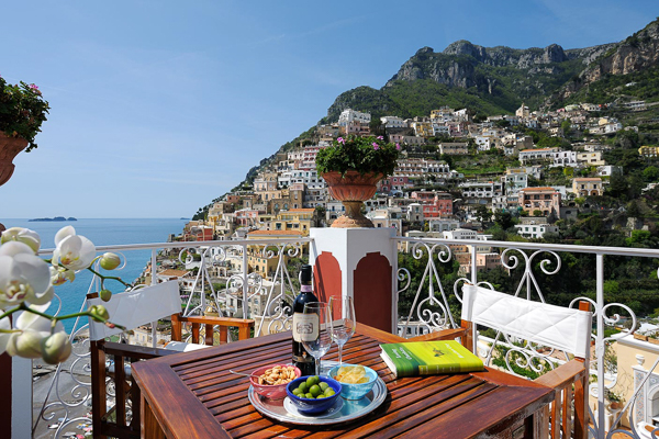 WIMCO Villas, Le Sirenuse, Positano, View from Villa, Book now with WIMCO Villas