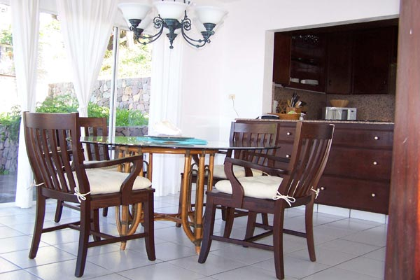 Dining Room at Villa WMB CAR (Carolina Cottage) at Saba, Troy Hill, Pool, 2 Bedrooms, 2 Bathrooms, WiFi, WIMCO Villas