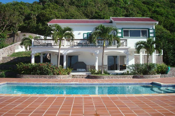 Exterior of Villa WMB CAR (Carolina Cottage) at Saba, Troy Hill, Pool, 2 Bedrooms, 2 Bathrooms, WiFi, WIMCO Villas